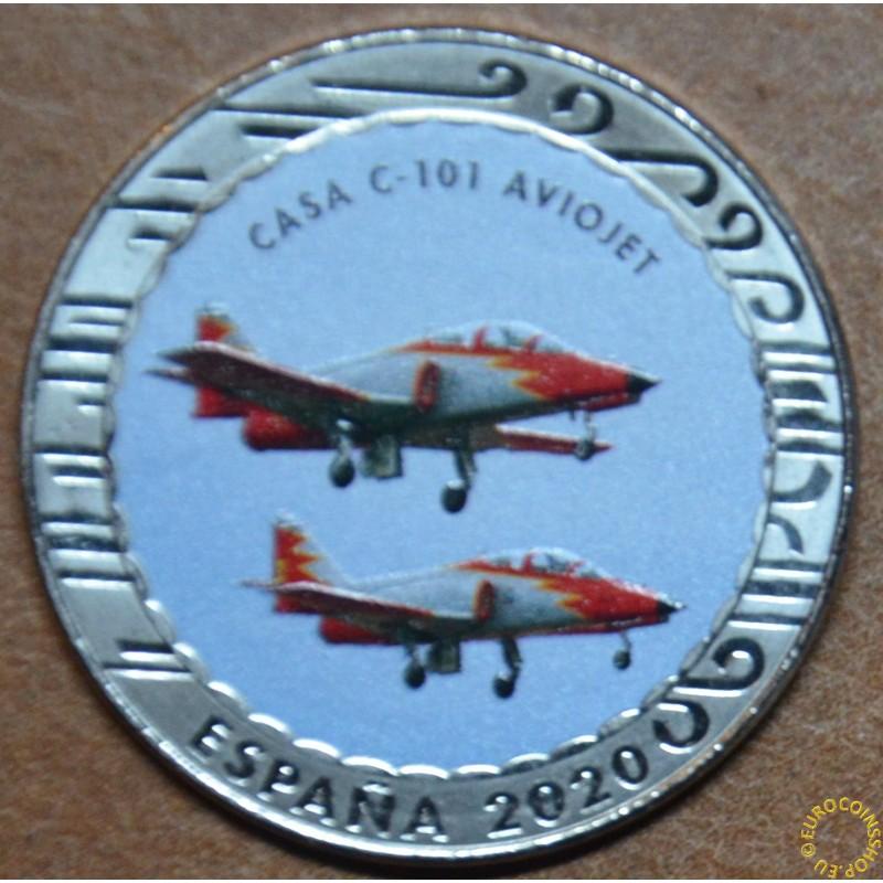 5 x 1,5 Euro Spain 2020 Historia de la Aviacion serie IV. (BU)