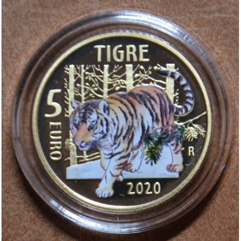 5 Euro Italy 2020 - Tiger (Proof)