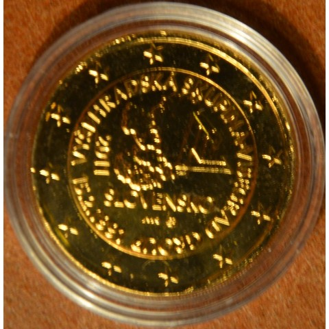 2 Euro Slovakia 2011 - 20th anniversary of the formation of the Visegrad Group  (gilded UNC)