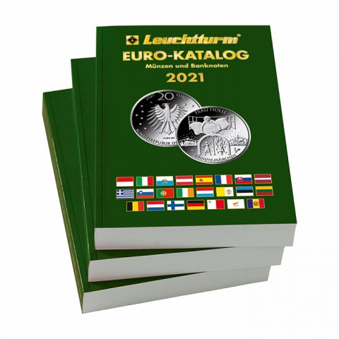 Leuchtturm Catalogue of Euro 2021 in German lang.