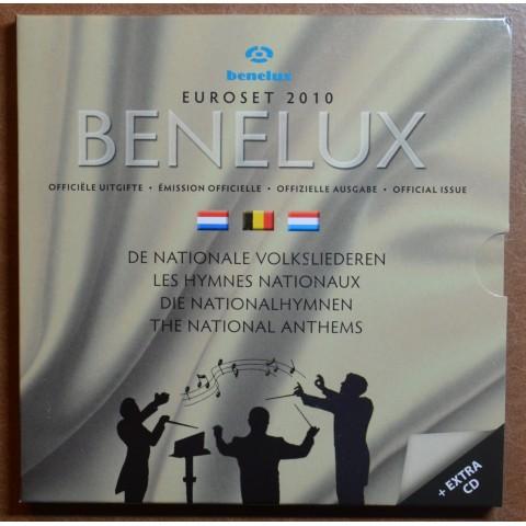 BeNeLux 2010 - set of 24 eurocoins (BU)