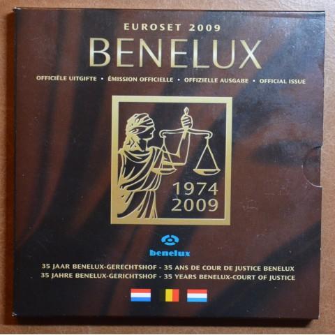 BeNeLux 2009 - set of 24 eurocoins (BU)