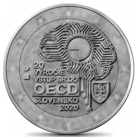 2 Euro Slovakia 2020 - Accession to the OECD (antique imitation)