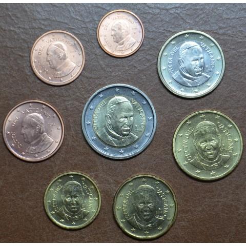 Set of 8 eurocoins Vatican 2014  (UNC)
