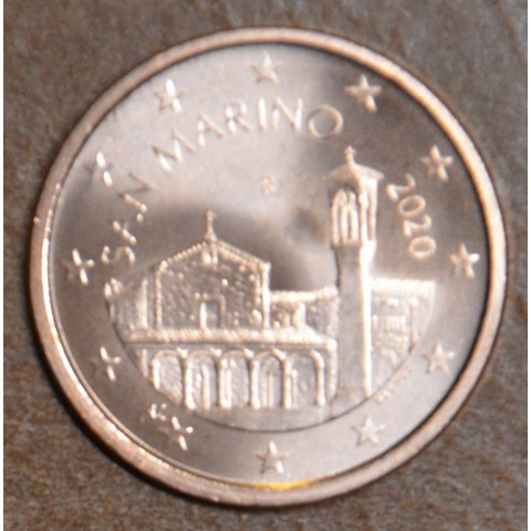 5 cent San Marino 2020 - New design (UNC)