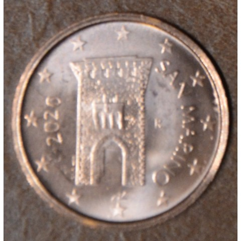 2 cent San Marino 2020 - New design (UNC)