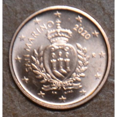 1 cent San Marino 2020 - New design (UNC)