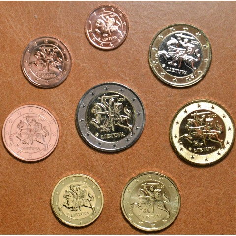 Lithuania 2021 set of 8 coins (UNC)
