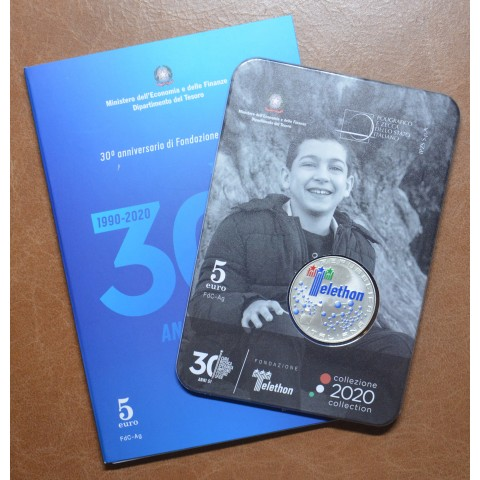 5 Euro Italy 2020 - Telethon (Proof)