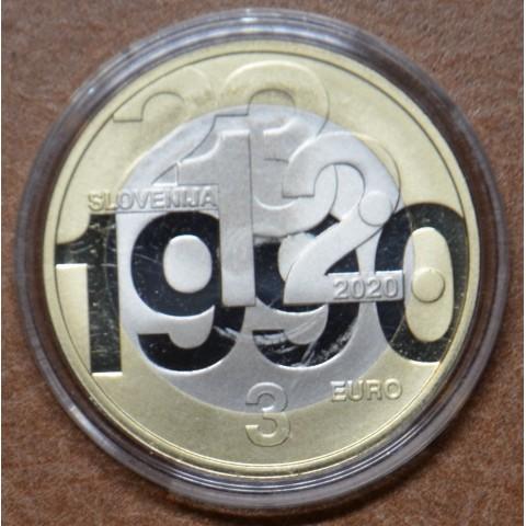 3 Euro Slovenia 2020 (Proof)