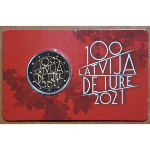 2 Euro Latvia 2021 - The 100th anniversary of Latvia's international recognition (BU)