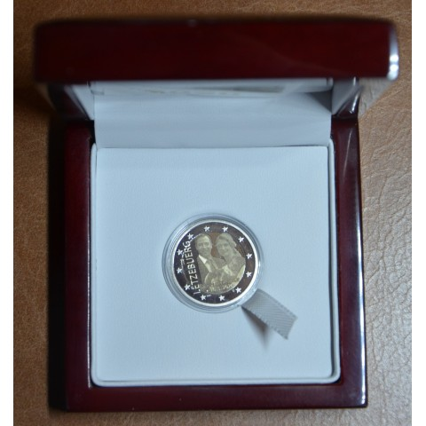 """2 Euro Luxembourg 2020 -  Birth of Prince Charles with mintmark """"bridge"""" (Proof)"""