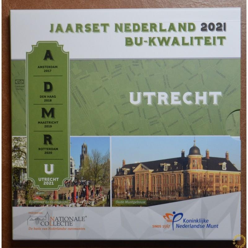 Netherlands 2021 - Utrecht set of 8 coins (BU)