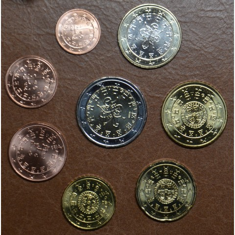 Portugal 2020 set of 8 coins (UNC)