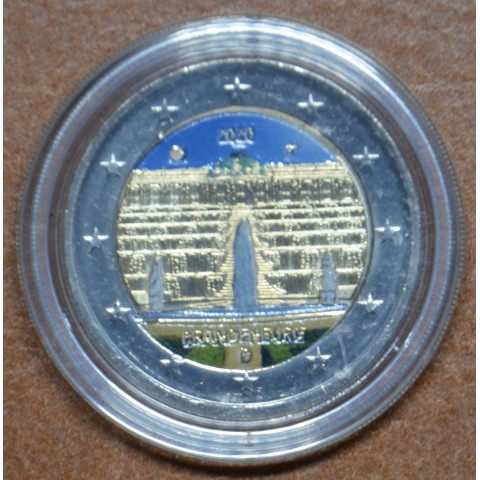 2 Euro Germany 2020 - Brandenburg III. (colored UNC)