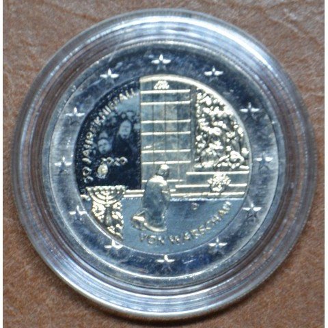 2 Euro Germany 2020 - 50 years of the Warschauer Kniefall (colored UNC)
