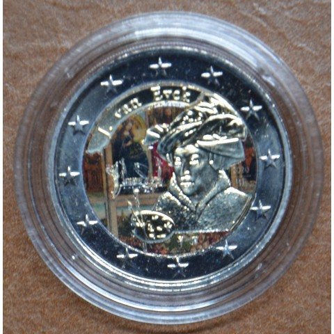 2 Euro Belgium 2020 - Jan van Eyck (colored UNC)