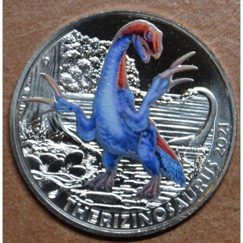 3 Euro Austria 2021 - Therizinosaurus (UNC)