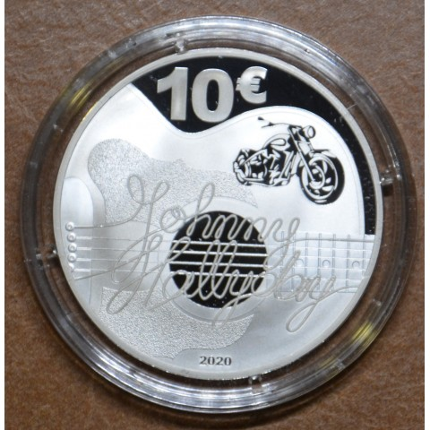 10 Euro France 2020 - Johnny Halliday (Proof)