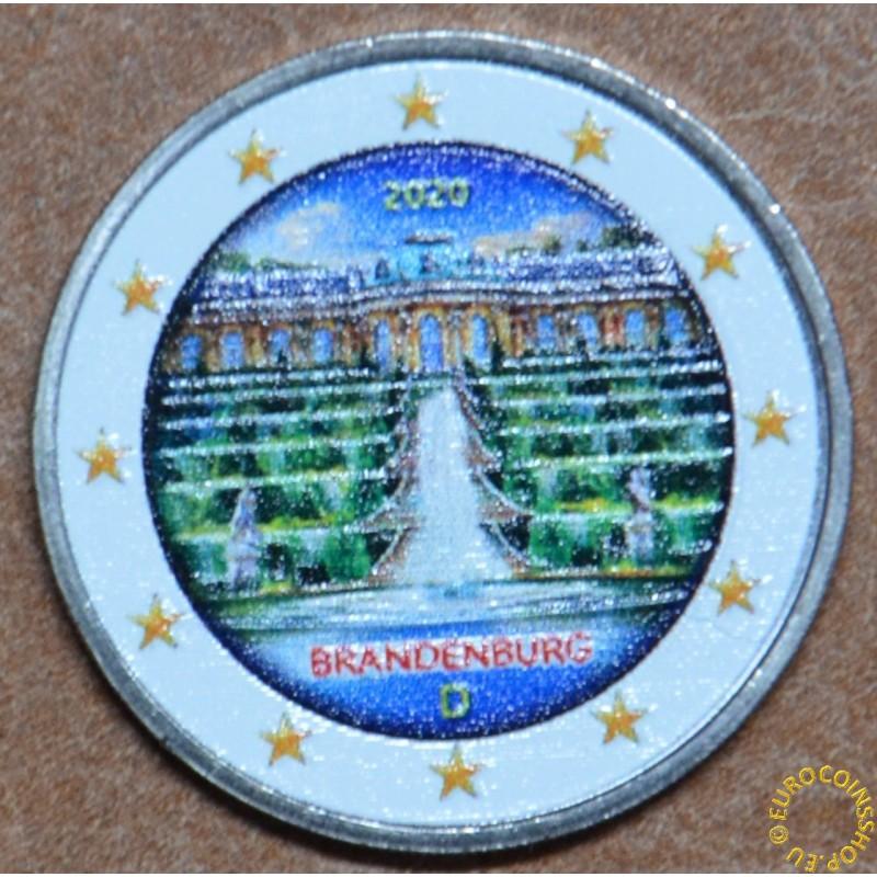 2 Euro Germany 2020 - Brandenburg IV. (colored UNC)