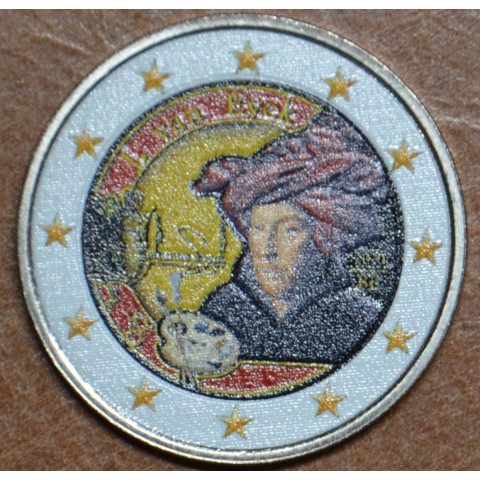 2 Euro Belgium 2020 - Jan van Eyck II. (colored UNC)