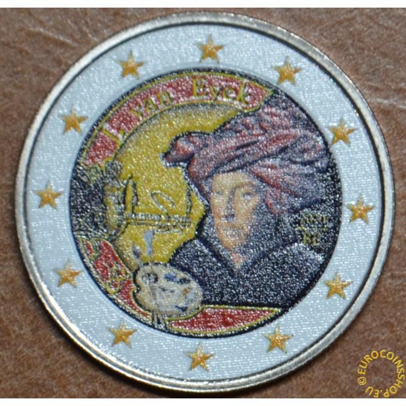2 Euro Belgium 2020 - Jan van Eyck II. (colored UNC)