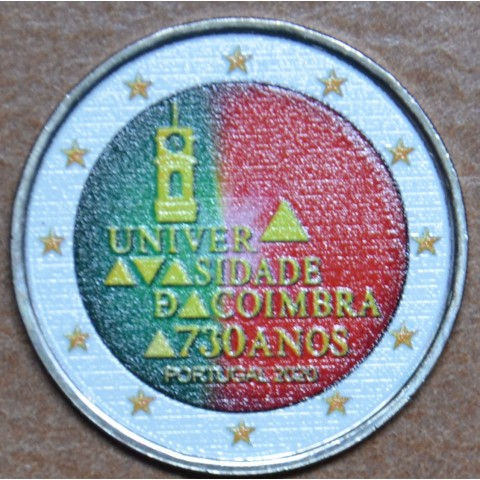 2 Euro Portugal 2020 - University of Coimbra II. (colored UNC)