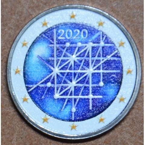 2 Euro Finland 2020 - 100 years of University of Turku III. (colored UNC)