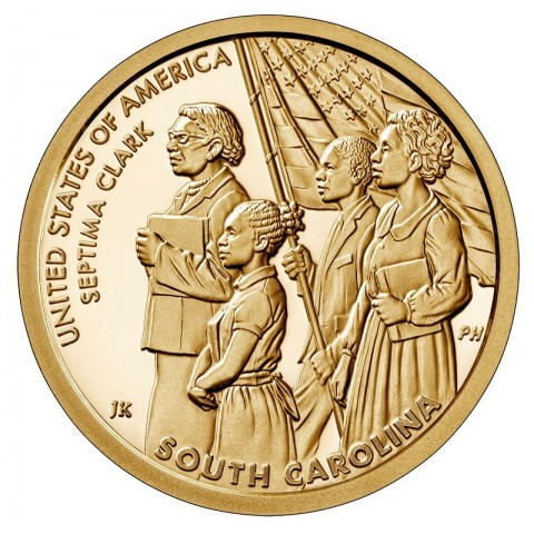 "1 dollar USA 2020 American Innovation - South Carolina ""D"" (UNC)"