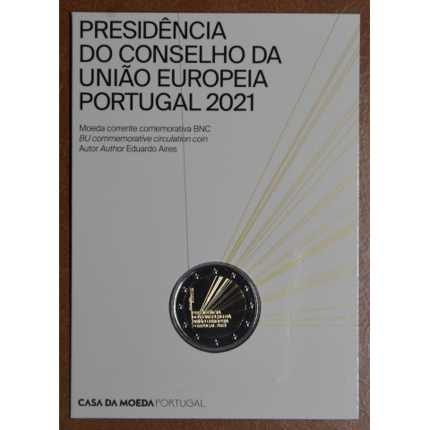 2 Euro Portugal 2021 - Portuguese Presidency of the Council of the European Union (BU)