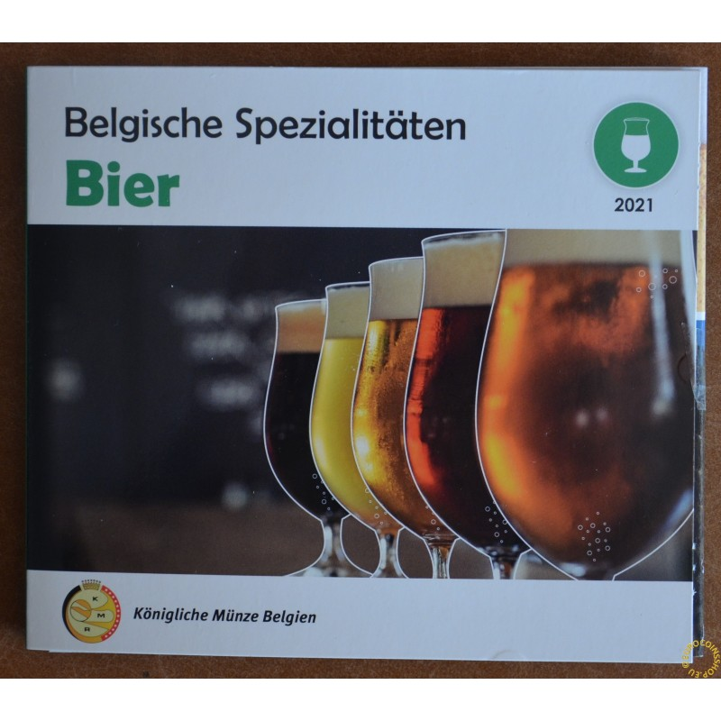 Belgium 2021 Bier official set (BU)