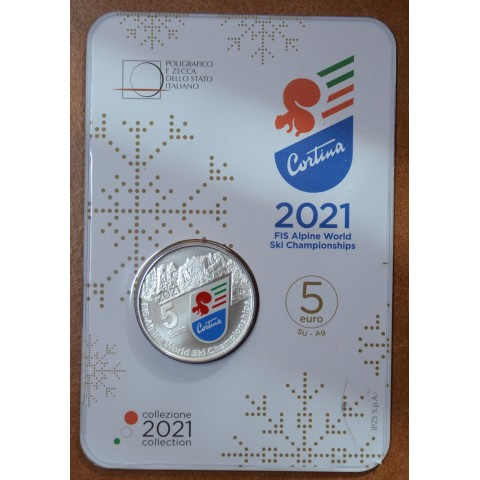 5 Euro Italy 2021 - Cortina (Proof)
