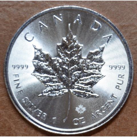 5 dollars Canada 2018 Maple leaf (1 oz. Ag)