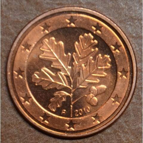 "2 cent Germany ""F"" 2010 (UNC)"