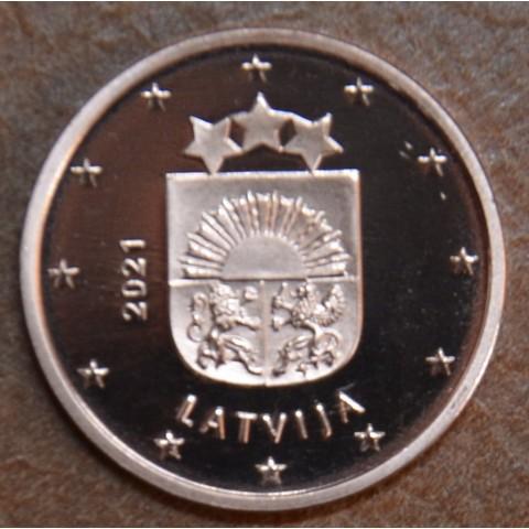 1 cent Latvia 2021 (UNC)