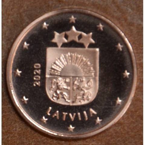 2 cent Latvia 2020 (UNC)