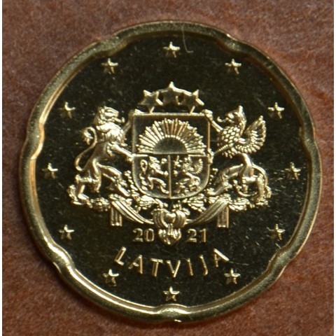 20 cent Latvia 2021 (UNC)