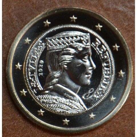 1 Euro Latvia 2020 (UNC)