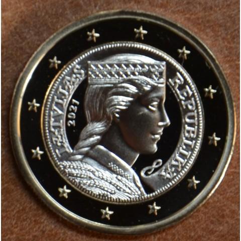 1 Euro Latvia 2021 (UNC)