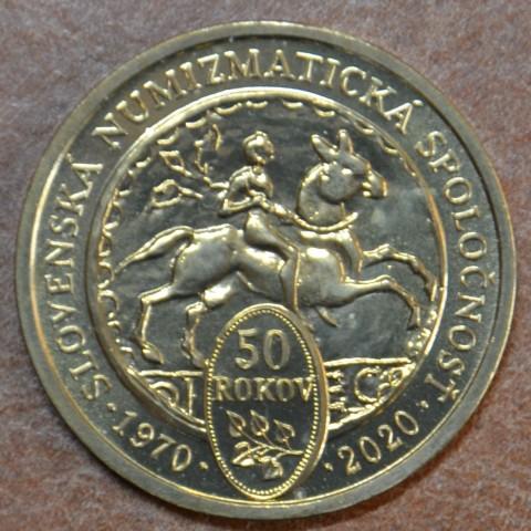 Token Slovakia 2020 Slovak numismatic organisation