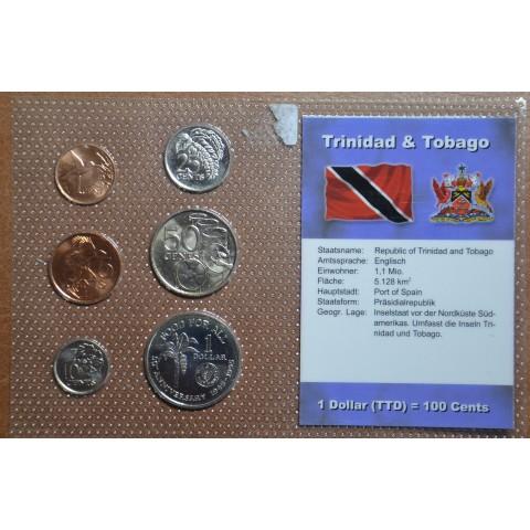 Trinidad and Tobago 6 coins (UNC)