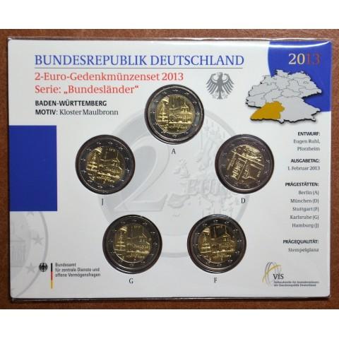 "2 Euro Germany ""G"" 2013 - Baden-Württemberg: Kloster Maulbronn (BU card)"