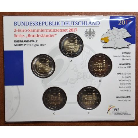 2 Euro Germany 2017 - Rheinland-Pfalz: Porta Nigra (BU card)