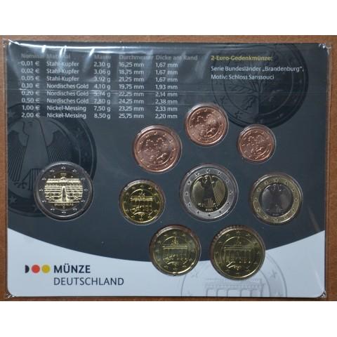 "Germany 2020 ""G"" set of 9 coins (BU)"