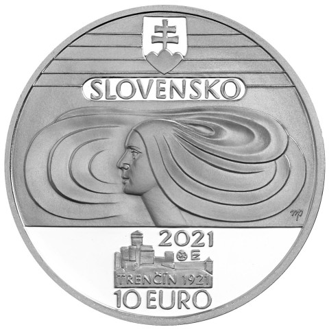 10 Euro Slovakia 2021 - Slovak Teachers' Choir (Proof)