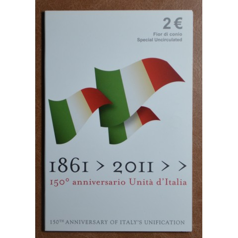 2 Euro Italy 2011 - 150th anniversary of unification of Italy (BU)