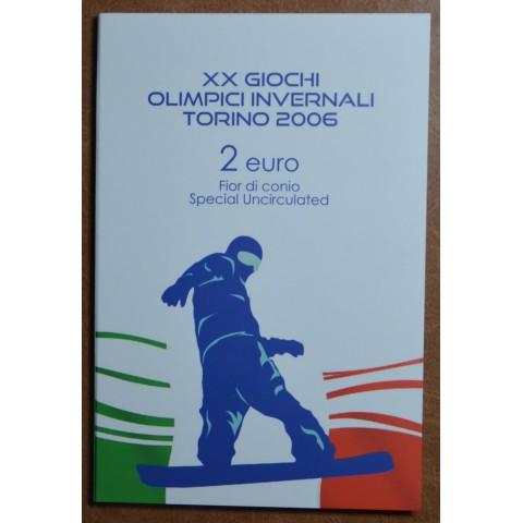 2 Euro Italy 2006 - Winter Olympics in Turin (BU)
