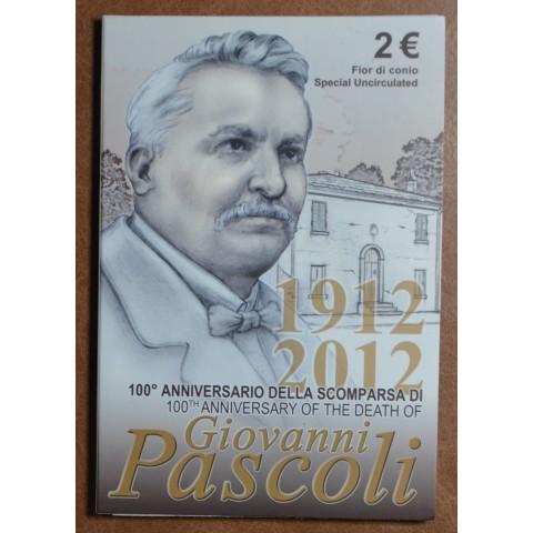 2 Euro Italy 2012 - 100th Anniversary of the Death of Giovanni Pascoli (BU)