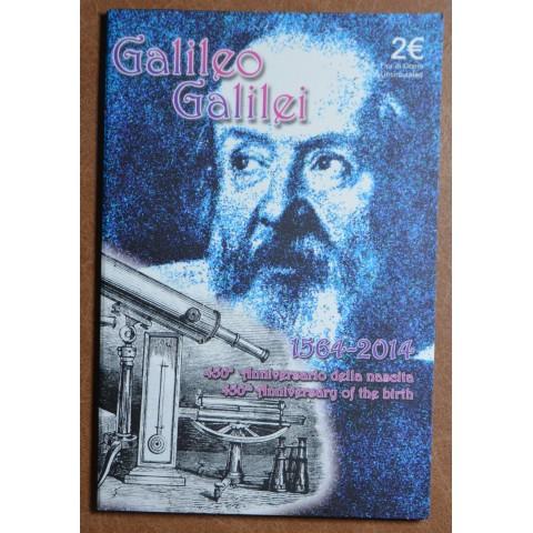 2 Euro Italy 2014 - 450th anniversary of Galileo Galilei  (BU)