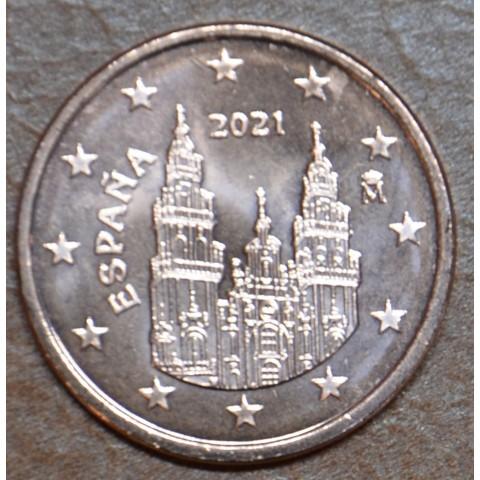 1 cent Spain 2021 (UNC)